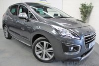 USED 2014 63 PEUGEOT 3008 1.6 HDI ALLURE 5d 115 BHP