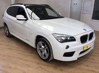 2011 BMW X1 2.0 XDRIVE20D M SPORT 5d AUTO 174 BHP £10795.00