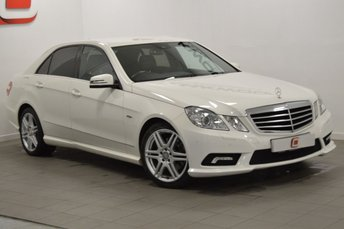 2010 MERCEDES-BENZ E CLASS 2.1 E220 CDI BLUEEFFICIENCY SPORT 4d AUTO 170 BHP £11995.00