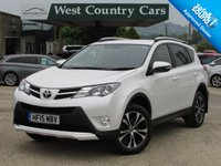 USED 2015 15 TOYOTA RAV4 2.0 VVT-I INVINCIBLE 5d AUTO 151 BHP Only 1 Owner From New