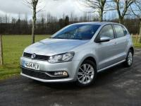 USED 2015 64 VOLKSWAGEN POLO 1.0 BlueMotion Tech SE (s/s) 5dr Low miles £20/ year tax