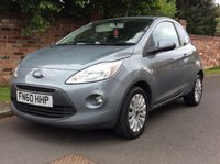 USED 2010 60 FORD KA 1.2 ZETEC 3d 69 BHP MOT MAY 19, 30 ROAD TAX, FULL SERVICE HISTORY, FULLY PREPARED, EXCELLENT CONDITION, ALLOYS, AIR CON,  E/WINDOWS, R/LOCKING, FREE  WARRANTY, FINANCE AVAILABLE, HPI CLEAR, PART EXCHANGE WELCOME,