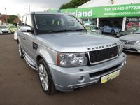 USED 2008 57 LAND ROVER RANGE ROVER SPORT 3.6 TDV8 SPORT SE 5d AUTO 188 BHP **CALL 01543 379066 FOR MORE INFO**