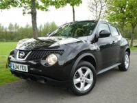 USED 2014 14 NISSAN JUKE 1.6 16v Visia 5dr Amazing value example  Just serviced by Nissan