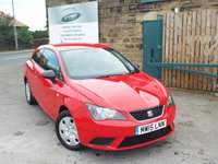 USED 2015 15 SEAT IBIZA 1.2 S A/C 3d 69 BHP One Owner Full SEAT Service History