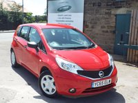 USED 2015 65 NISSAN NOTE 1.2 VISIA 5d 80 BHP One Owner