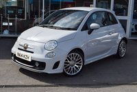 USED 2014 14 ABARTH 500 1.4 ABARTH 3d 135 BHP 1 LADY OWNER FULL SERVICE HISTORY
