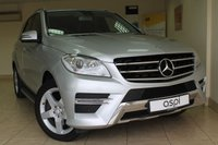 2013 MERCEDES-BENZ M CLASS 2.1 ML250 BLUETEC SPORT 5d AUTO 204 BHP £20950.00