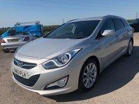 2014 HYUNDAI I40 1.7 CRDI STYLE 5d AUTO 138 BHP £10995.00