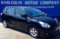 USED 2009 59 TOYOTA VERSO 2.0 TR D-4D 5d 125 BHP FULL TOYOTA SERVICE HISTORY ONE PREVIOUS OWNER 7 SEATER
