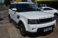 USED 2010 04 LAND ROVER RANGE ROVER SPORT 3.0 TDV6 HSE 5d AUTO 245 BHP THE CAR FINANCE SPECIALIST
