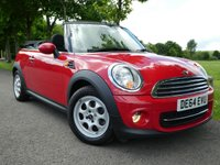 USED 2014 64 MINI CONVERTIBLE 1.6 Cooper 2dr AMAZING value convertible