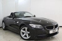 USED 2010 10 BMW Z4 2.5 Z4 SDRIVE23I ROADSTER 2DR AUTOMATIC 201 BHP FULL SERVICE HISTORY + HEATED LEATHER SEATS + PARKING SENSOR + CRUISE CONTROL + MULTI FUNCTION WHEEL + CLIMATE CONTROL + 17 INCH ALLOY WHEELS