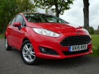 USED 2015 15 FORD FIESTA 1.5 TDCi Zetec 5dr £0 tax Immaculate Bluetooth