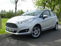 USED 2014 63 FORD FIESTA 1.5 TDCi Zetec 5dr Low miles NilTax Low Insurance