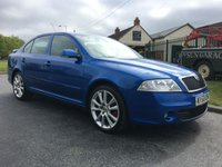 2008 SKODA OCTAVIA 2.0 VRS TDI CR 5d 170 race blue low miles fsh hard to find this clean  £5495.00