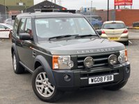 2008 LAND ROVER DISCOVERY 2.7 3 TDV6 XS 5d 188 BHP £10995.00