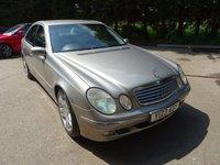 2003 MERCEDES-BENZ E CLASS 5.0 E500 ELEGANCE 4d AUTO 306 BHP £2790.00