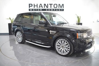 2012 LAND ROVER RANGE ROVER SPORT 3.0 SDV6 AUTOBIOGRAPHY SPORT 5d AUTO 255 BHP £21990.00