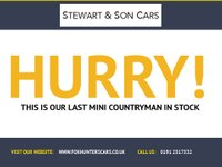 USED 2012 62 MINI COUNTRYMAN 1.6 COOPER D ALL4 5d 112 BHP FREE THREE MONTH WARRANTY FREE THREE MONTH WARRANTY