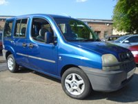 2004 FIAT DOBLO 1.9 ACTIVE JTD 5d 105 BHP £1795.00