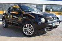USED 2011 11 NISSAN JUKE 1.6 ACENTA PREMIUM 5d 117 BHP THE CAR FINANCE SPECIALIST