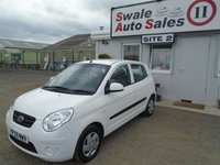 USED 2009 59 KIA PICANTO 1.0 1 5d 61 BHP £16 PER WEEK NO DEPOSIT - SEE FINANCE LINK BELOW