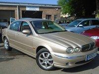 2002 JAGUAR X-TYPE 2.1 V6 SE 4d AUTO 157 BHP £1995.00