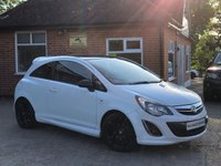 2013 VAUXHALL CORSA 1.2 LIMITED EDITION 3d 83 BHP £5795.00