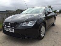 2014 SEAT LEON 1.6 TDI S 5d 105 BHP £6990.00