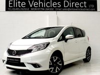 2015 NISSAN NOTE 1.2 ACENTA 5d 80 BHP £7791.00
