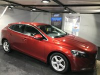 USED 2014 64 VOLVO V40 1.6 D2 SE NAV 5d 113 BHP ZERO Road tax  :  Bluetooth : Satellite Navigation      :      DAB Radio      :      Wi-Fi      :      Part leather upholstery  :      Climate Control/Air-Conditioning    :    Fully stamped Volvo main dealer service history