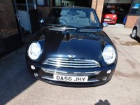 USED 2006 56 MINI CONVERTIBLE 1.6 ONE 2d 89 BHP