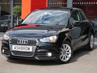 USED 2014 64 AUDI A1 1.6 TDI SPORT 3d 105 S/S UPGRADE NAVIGATION PREP, UPGRADE PHONE PREP WITH BLUETOOTH & MUSIC STREAMING, UPGRADE AUDI MUSIC INTERFACE FOR IPOD/ USB DEVICES (AMI), MANUAL 5 SPEED, START STOP TECHNOLOGY, FRONT FOG LIGHTS, 16 INCH 10 SPOKE ALLOYS, GREY TORNADO CLOTH INTERIOR, SPORT SEATS, LEATHER MULTIFUNCTION STEERING WHEEL, ELECTRIC WINDOWS, ELECTRIC HEATED DOOR MIRRORS, AIR CONDITIONING, CD HIFI WITH 2x SD CARD READERS, ISO FIX, FOLDING REAR SEATS, AIRBAGS WITH PASSENGER OFF, TRACTION CONTROL. SERVICE HISTORY, £0 ROAD TAX