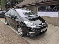 2012 CITROEN C4 GRAND PICASSO 2.0 EXCLUSIVE HDI 5d 150 BHP £6495.00