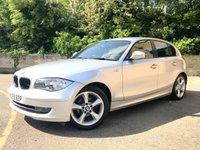2009 BMW 1 SERIES 2.0 116I SPORT 5d ONLY 59K 5 SERVICES, REAR PARKING SENSORS  £5990.00