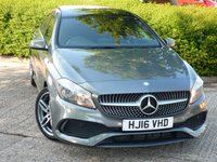 USED 2016 16 MERCEDES-BENZ A CLASS 1.5 A 180 D AMG LINE 5d 107 BHP £20 A YEAR ROAD TAX!! NEED FINANCE ?  POOR CREDIT WE CAN HELP! JUST ASK ! 50+ MPG IN DAY TO DAY DRIVING!!