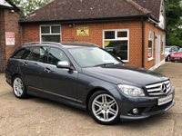 USED 2008 08 MERCEDES-BENZ C CLASS 2.1 C220 CDI SPORT 5d AUTO 168 BHP 1 OWNER! FULL SERVICE HISTORY!
