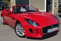 2013 JAGUAR F-TYPE 3.0 V6 2d CONVERTIBLE QUICKSHIFT 340 BHP £32990.00