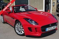 2013 JAGUAR F-TYPE 3.0 V6 2d CONVERTIBLE QUICKSHIFT 340 BHP