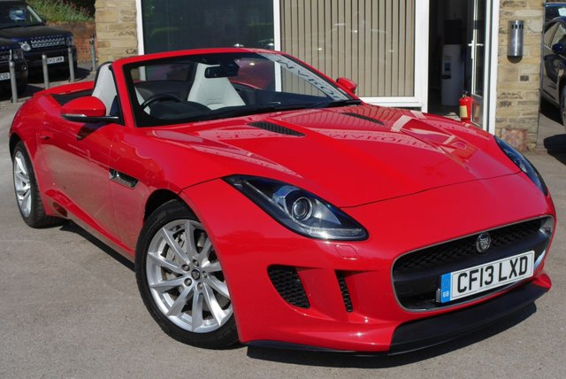 View our JAGUAR F-TYPE