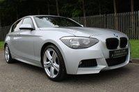 2013 BMW 1 SERIES 2.0 118D M SPORT 5d 141 BHP £8500.00