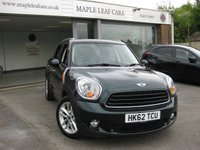 2012 MINI COUNTRYMAN 1.6 COOPER D ALL4 5d 112 BHP £8395.00