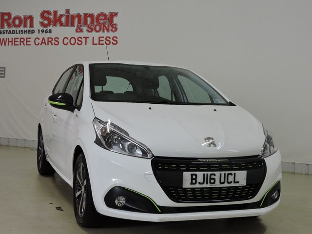 View our 2016 16 PEUGEOT 208 1.2 PURETECH XS LIME 5d 82 BHP
