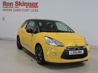 USED 2015 15 CITROEN DS3 1.2 PURETECH DSTYLE PLUS S/S 3d 109 BHP (Black Roof)