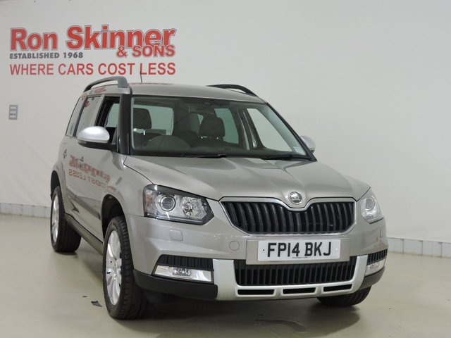View our 2014 14 SKODA YETI 2.0 OUTDOOR ELEGANCE TDI CR 5d 109 BHP