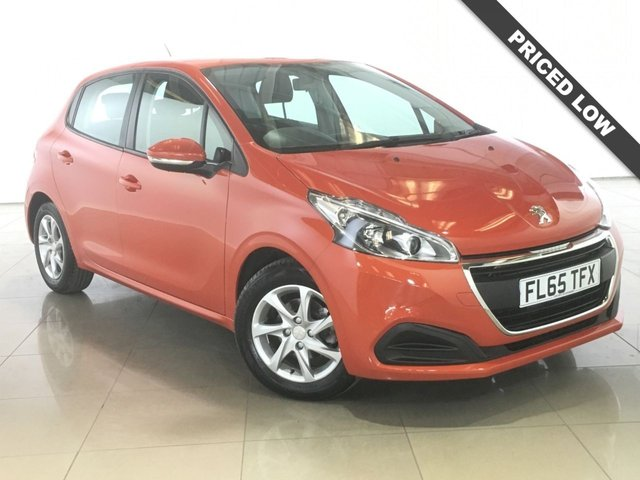 View our 2015 65 PEUGEOT 208 1.6 BLUE HDI ACTIVE 5d 75 BHP