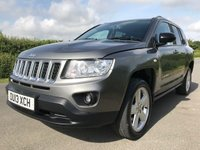 USED 2013 13 JEEP COMPASS 2.1 CRD LIMITED 4WD 5d 161 BHP