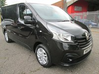 USED 2016 16 RENAULT TRAFIC SL27 DCi 115 SPORT SWB Low roof *AIR CON + BLUETOOTH* VERY HIGH SPEC INCLUDING SAT NAV AND AIR CON
