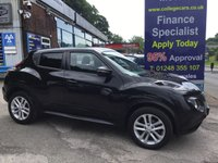 USED 2015 15 NISSAN JUKE 1.6 ACENTA PREMIUM XTRONIC 5d AUTO 117 BHP, only 27000 miles ***GREAT FINANCE DEALS AVAILABLE***